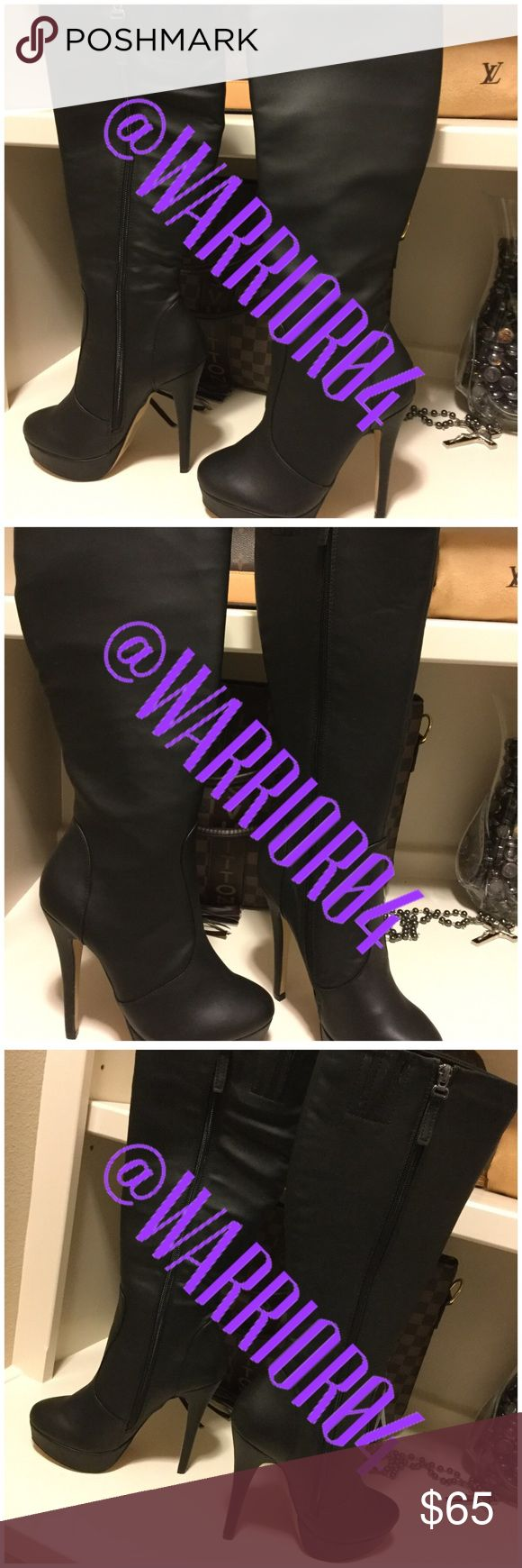 My Favorite LBB Little Black Boots Size 6.5 NWB My Favorite LBB Little Black Boots Size 6.5 NWB no price on them but never worn SHOE DAZZLE STYLE is MOIRA Shoe Dazzle Shoes Heeled Boots