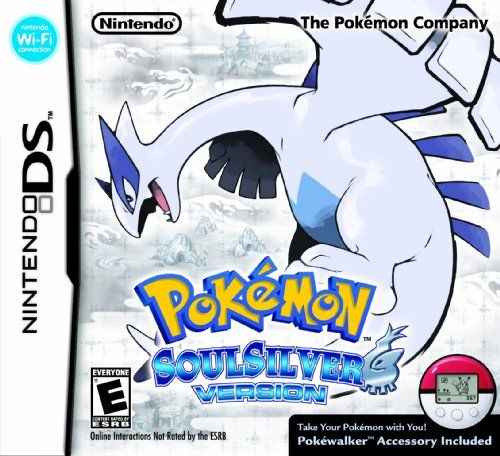 http://vgameconsoles.com/pinnable-post/pokemon-soulsilver-version Pokemon HeartGold Version and Pokemon SoulSilver Version return players to the scenic Johto region first introduced in the beloved original Pokemon Gold and Pokemon Silver games nearly a decade ago. The richly detailed adventure of Pokemon Gold and Pokemon Silver is now enhanced for the Nintendo DS and Nintendo DSi systems with updated graphics and sound, as well as new touch-scree...
