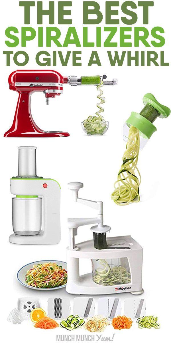 Best Spiralizers To Give A Whirl Best Spiralizer Vegetable Noodles Veggie Spiralizer