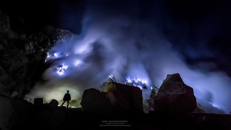 Blue Fire Night - Kawah Ijen | by Sukarnjanaprai