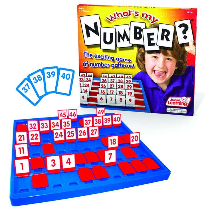JL150 What's My Number? The exciting game of number patterns. Help students learn to count from 1 to 50 with this exciting number patterns game. Students will love the interactive nature of the game b