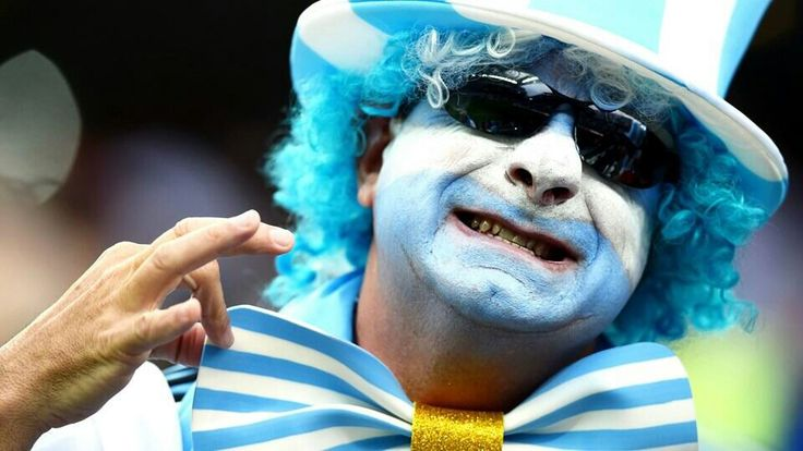 Supporter of Argentina