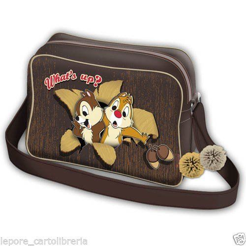 Borsa tracolla CIP E CIOP WHAT S UP ecopelle - DISNEY