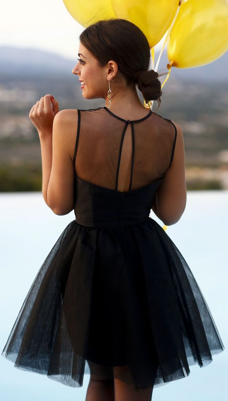 299 best Little Black Dress images on Pinterest   Dress black ...