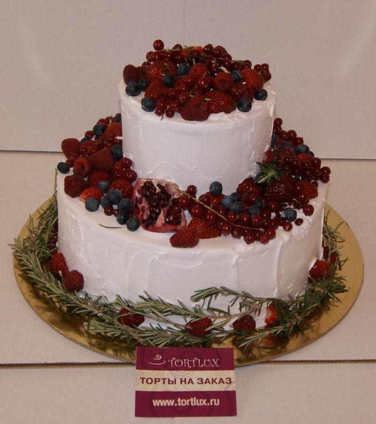 Свадебный торт без мастики.Вес 5 кг.