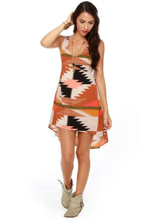 Billabong Indian Summer Print Dress #lulusholiday