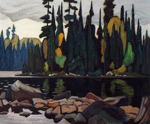 Lakeside View c.1922 Lawren Harris