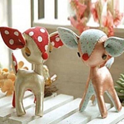 diy stuffed animals | DIY stuffed animal deer by: sandylee123