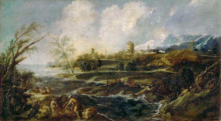 Alessandro Magnasco. Landscape