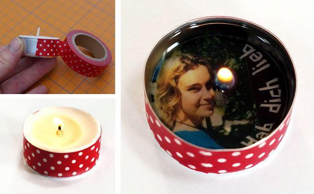 Fotogruesse: DIY: Foto-Überraschungs-Teelicht