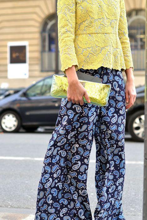 Stella McCartney paisley print pants