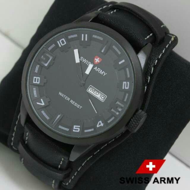 Jam tangan pria SWISS ARMY  Harga 170.000 +ongkir