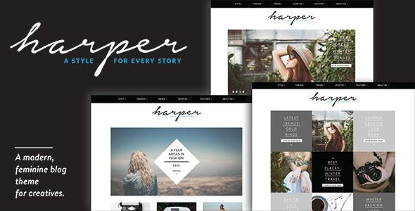 [GET] Harper - A Feminine Blog Theme for WordPress (Blog / Magazine) - NULLED - http://wpthemenulled.com/get-harper-a-feminine-blog-theme-for-wordpress-blog-magazine-nulled/