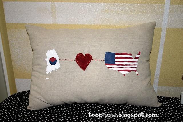 Cute Long Distance Pillow Cases