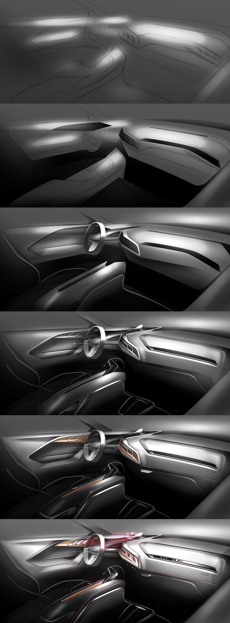 Interior demo for CDS on Behance