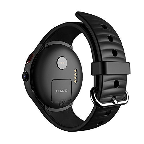 JOliwow LEMFO LES1 Smart Watch Android 5.1 Wrist Phone MTK6580 1GB 16GB Heart Rate Monitor (Black)   #AndroidSmartPhone #Black #HeartRateMonitor #Italy #LanguageChinese #LEMFO #LES1 #OperatingSystemAndroid #SmartWatch #UserManual #WIFI Package List: 1*Smart Watch, 1*USB Cable, 1*Dock, 1*User Manual, 1*Screwdriver CPU: MTK6580, 1.3GHz, quad core Operating System:Android 5.1
