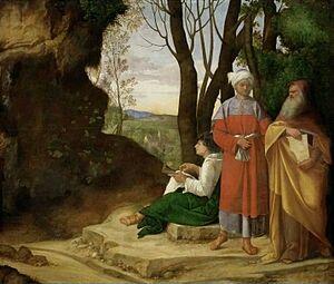 Los tres filósofos  ( Giorgione )