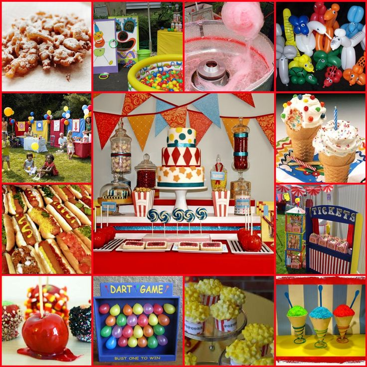 1000+ Ideas About Carnival Themed Birthday Party On