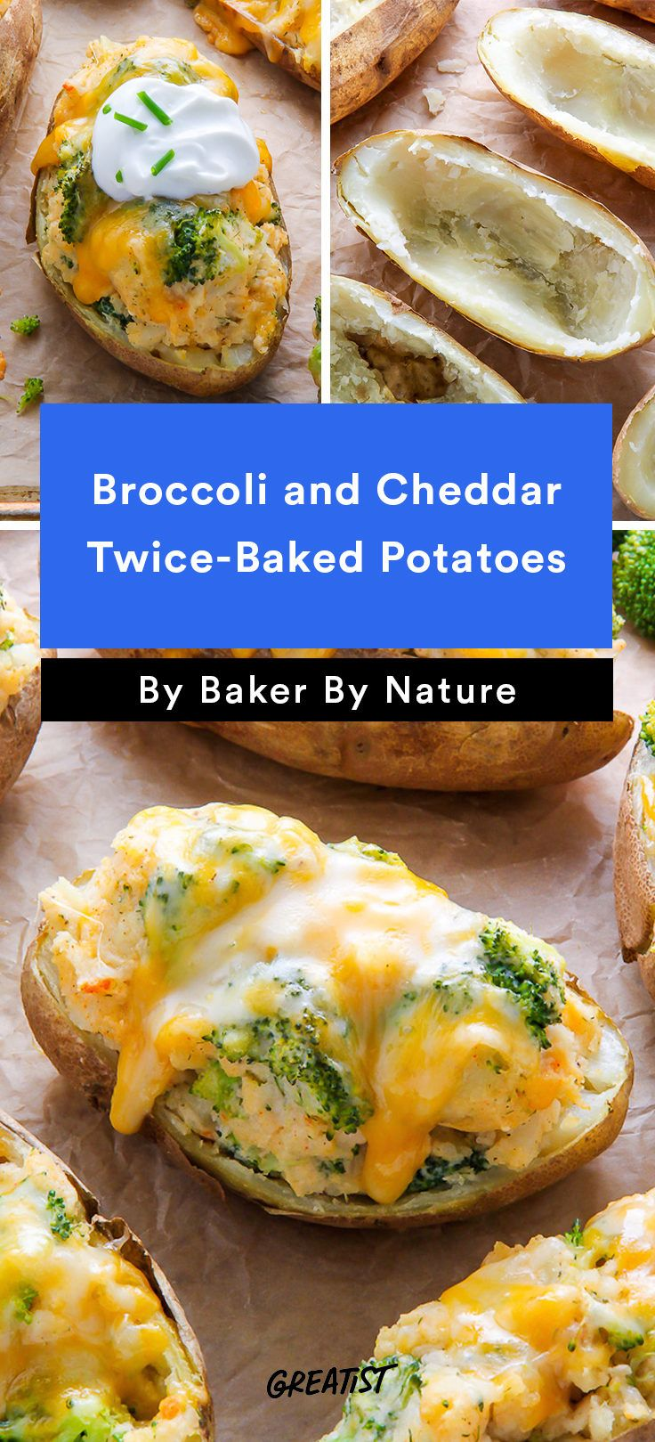 5. Broccoli and Cheddar Twice-Baked Potatoes  #Greatist http://greatist.com/eat/recipes-to-make-inside-a-baked-potato