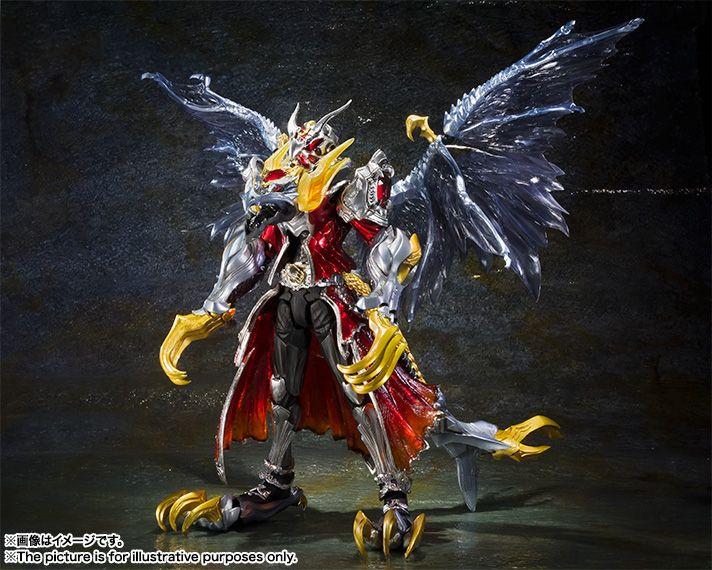 S.I.C. 仮面ライダーウィザード フレイムドラゴン&オールドラゴン 05
