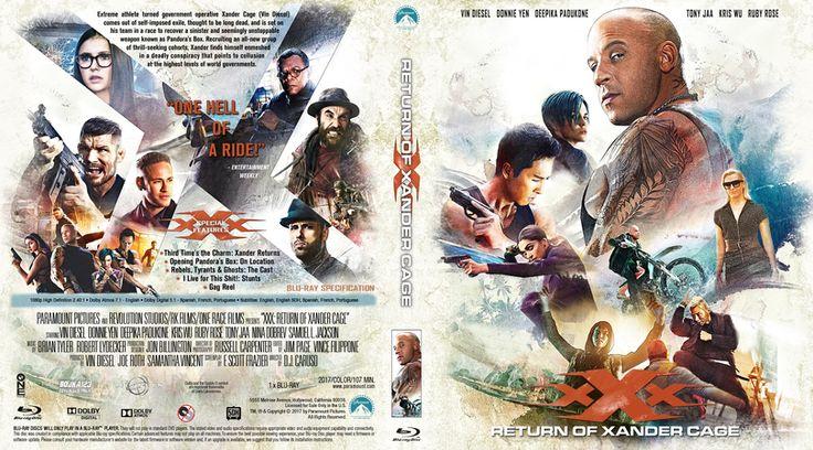 xXx: Return of Xander Cage (2017) Blu-ray Custom Cover