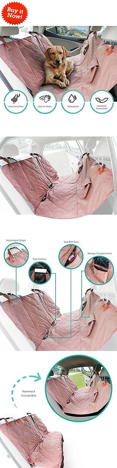 Car Seat Covers 117426: Wow Waterproof Dog Car Back Seat Cover Nonslip Pet Dog Car Hammock Suv Pink Us -> BUY IT NOW ONLY: $35.98 on eBay!
