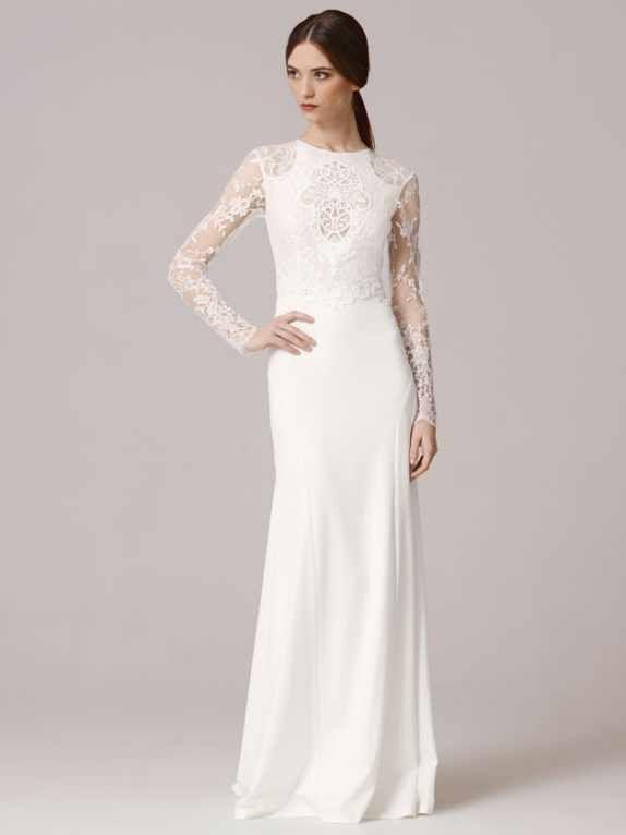 21 besten Brautkleid Bilder auf Pinterest | Brautkleid, Elfenbein ...