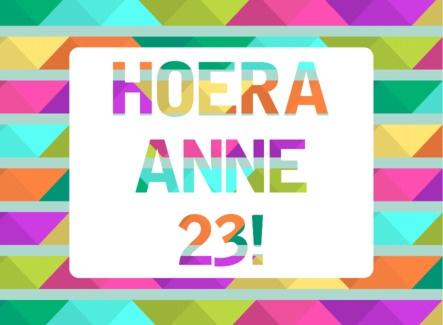 Hoera! een kleurrijke verjaardag- Greetz