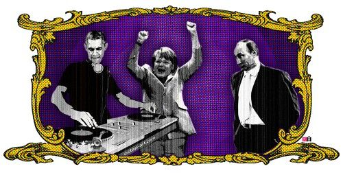 Dance with me, Baby! I sad,  DACE!!  Bitch!! #putin #merkel #obama #silkprint #screenprint #art #artoftheday #contemporaryartcurator #contemporaryartist #politics #dance #party #freedom #imperial #pop #popart  Artist: www.tape-art-ostap.com