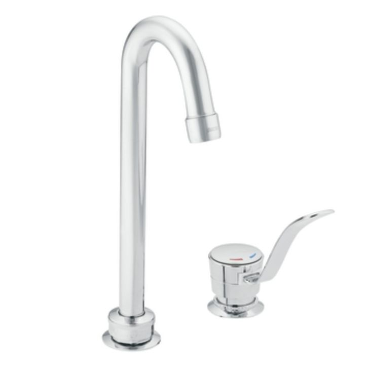 moen commercial single handle barpantry faucet in chrome