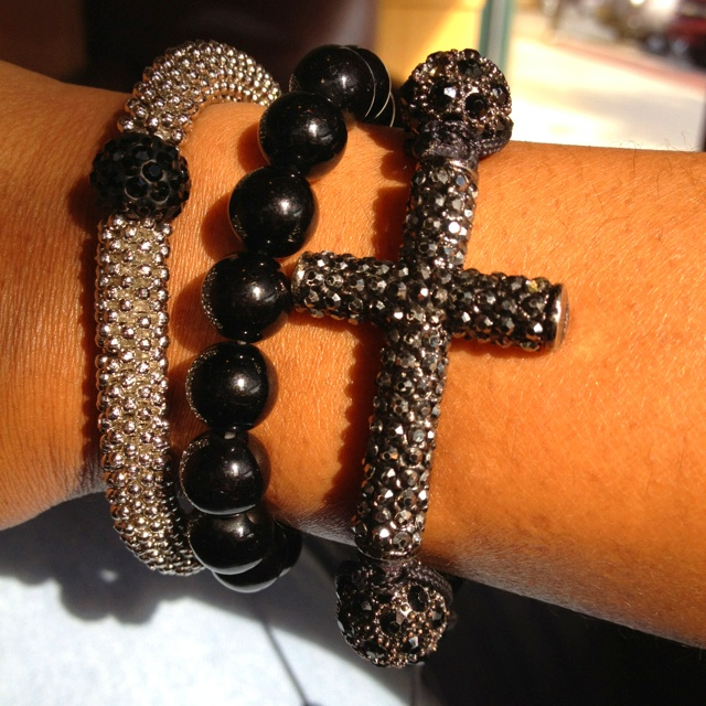 Black jewels and cross