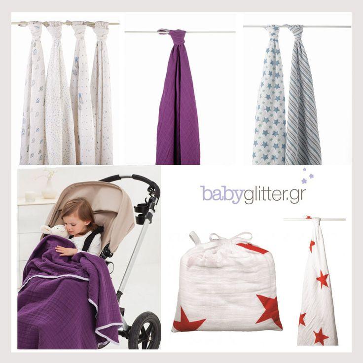 Εσείς χρησιμοποιείτε μουσελίνες για την φροντίδα του μωρού σας? Βρείτε τα πανέμορφα σχέδια της Aden + Anais από 100% βαμβάκι που θα σας λύσουν τα χέρια! babyglitter.gr http://babyglitter.gr/brands/aden-anais/