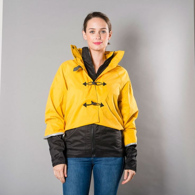 Georgia in Dublin Bronte ladies cycling Jacket - Yellow | Cyclechic | Cyclechic