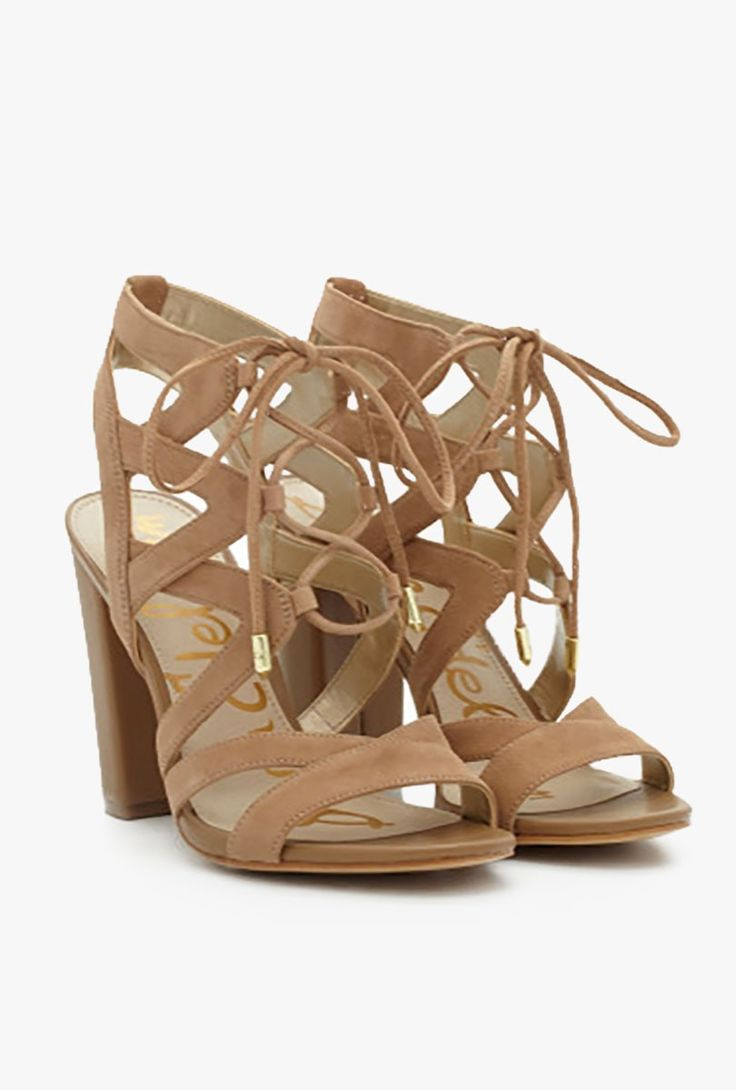 Sam Edelman - Yardley Lace Up Heel Sandal