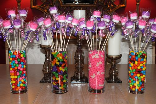 Thank You Chocolates - Candy Buffets and Chocolate Favours for all Occasions - Marshmallow Favours
