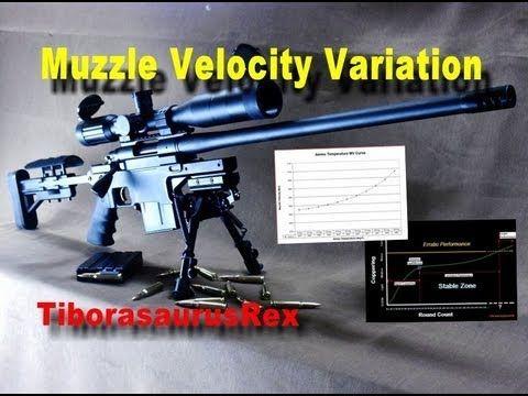 SNIPER 101 Part 58 - Ballistics Tables - Muzzle Velocity Variation (1/2)