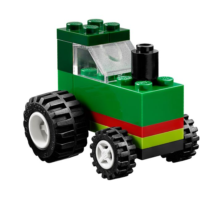 LEGO classic - building instructions to download - e.g. Green tractor