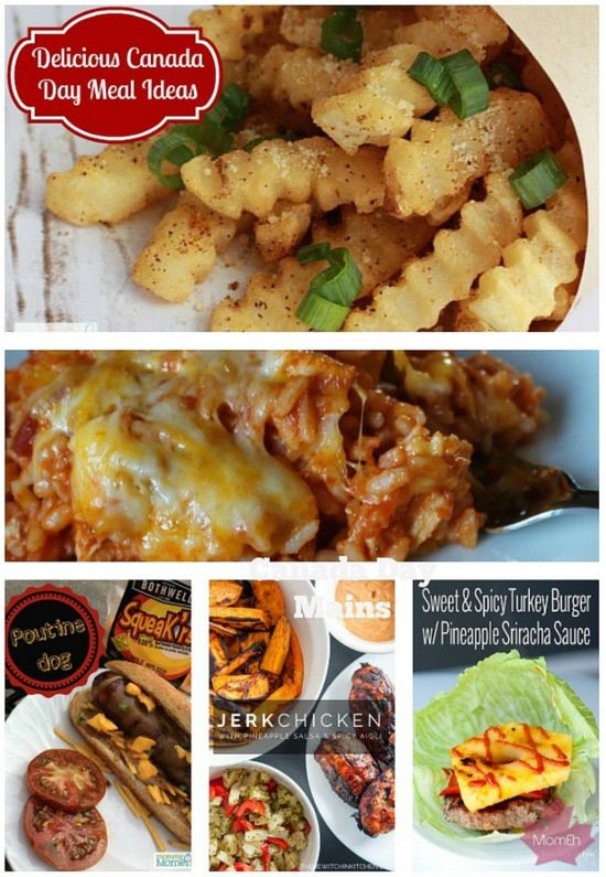 canada day meal ideas, canada day menu, ninjamommers, the bewitched kitchen, canadianmomeh, top canadian bloggers