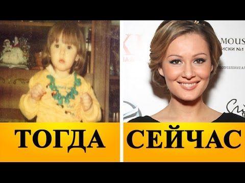 Самые красивые российские актрисы в детстве и сейчас