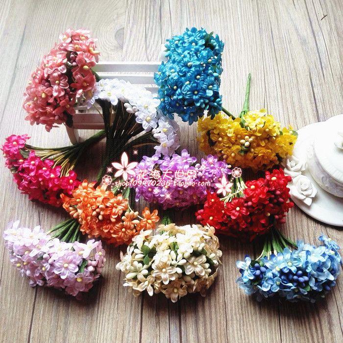 Сочетание сливы цветок фея DIY рукоделие изысканный искусственные цветы моделирование свадебные цветы венок премиум материал, реквизит-Таобао съемки глобального вокзала