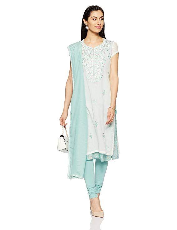 f0559d2301 #indian #BIBA Women's Straight Salwar Suit sale deals बिक्री सौदे