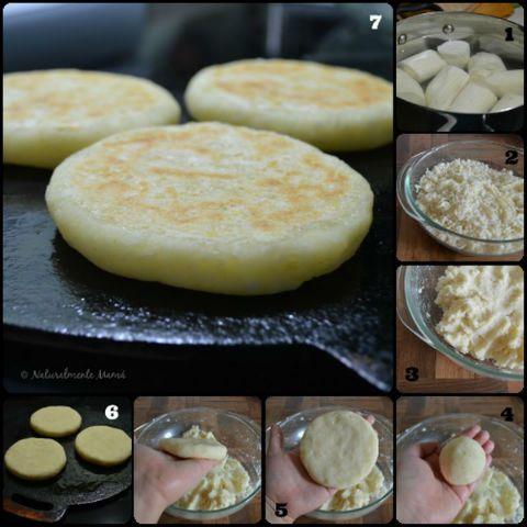 Arepas de yuca en 3 pasos y con solo dos ingredientes | CaraotaDigital