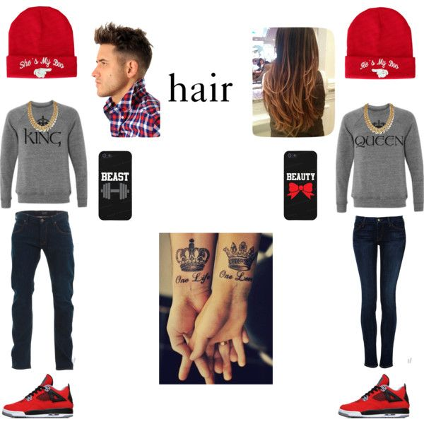 """Couple Swag!?"" by kyellis on Polyvore"