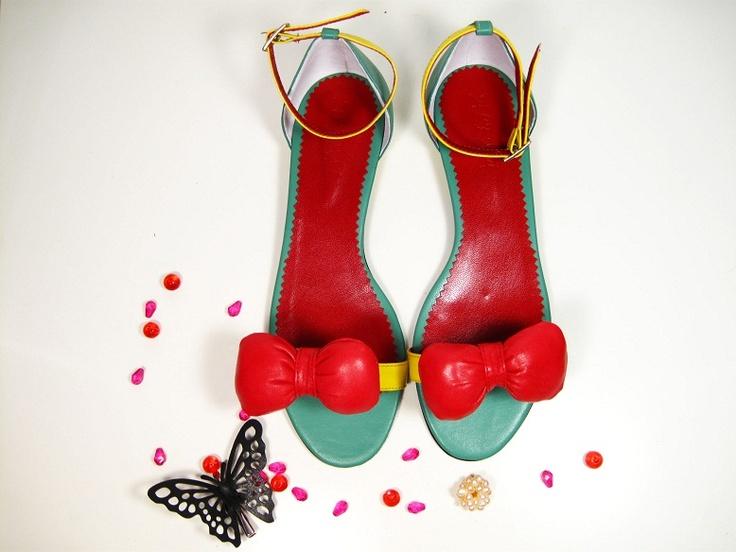Sandale din piele Delicious de pantoficaro Breslo