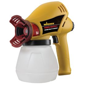 Wagner Power Painter II- Uses both oil and latex paints and stains