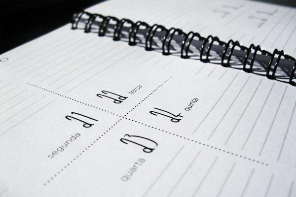 Agenda - ARTEC 23 - Génese by Bruno Graça , via Behance