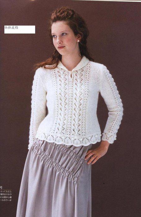 Элегантный пуловер. Обсуждение на LiveInternet - Российский Сервис Онлайн-Дневников