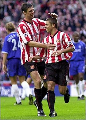Kevin Phillips & Niall Quinn. Super duo.