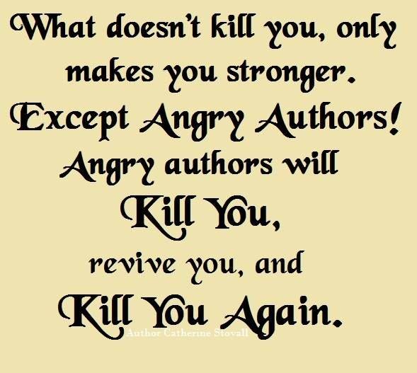 Readers Beware!
