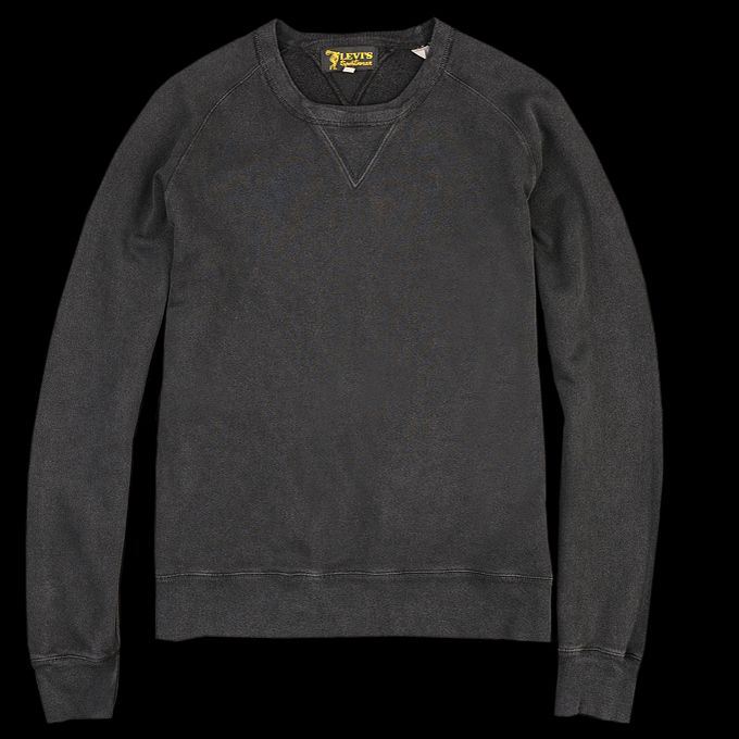 This Classic 1950s Style Sweatshirt Is Made From A Soft